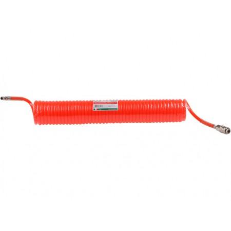Купить в Минске Шланг полиэт. спиральный ф 6 мм с быстросъемн. соед. ECO (длина 10 м) цена