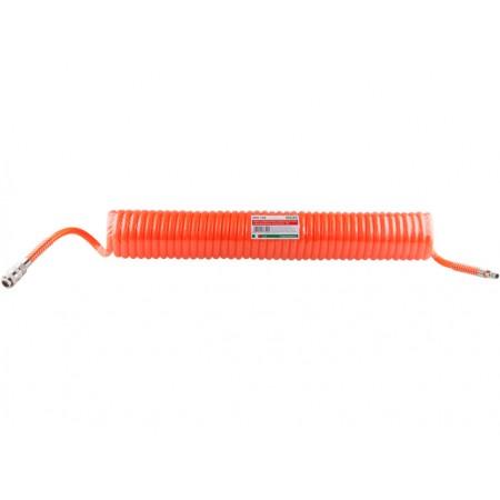 Купить в Минске Шланг полиурет. спиральный ф 8/12 мм c быстросъемн. соед. ECO (длина 10 м) цена