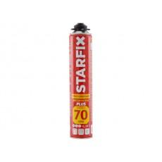 Купить в Минске Пена монтажная профессиональная всесезонная STARFIX Foam Pro Plus 70 (940мл) (Выход пены до 70 литров) цена