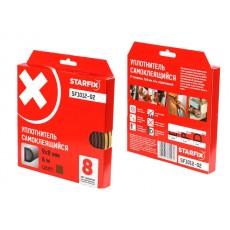 Купить в Минске Уплотнитель D коричневый 9х8мм 6м STARFIX (SF1012-02) цена