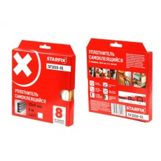 Купить в Минске Уплотнитель E белый 10х4мм 6м STARFIX (SF1010-01) цена