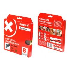 Купить в Минске Уплотнитель P коричневый 9х5,5мм 6м STARFIX (SF1014-02) цена