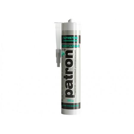 Купить в Минске Герметик силиконовый универсальный PATRON (прозрачный) 300 мл (БелИНЭКО) цена