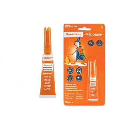 Купить в Минске Супер-клей гель Чародей 3г/блистер TDM цена