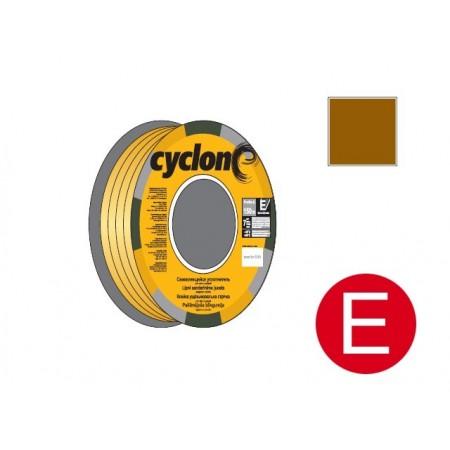 Купить в Минске Уплотнитель E коричневый 150м CYCLONE цена