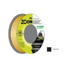 Купить в Минске Уплотнитель P черный 100м ZOOM CLASSIC цена