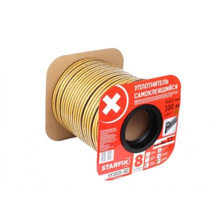 Купить в Минске Уплотнитель P коричневый 9х5,5мм 100м STARFIX (SF1015-02) цена
