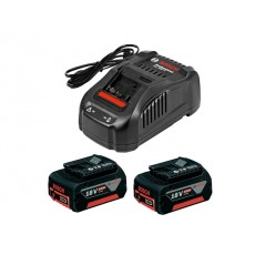 Купить в Минске Комплект аккумулятор 18.0 В GBA18 V 2 шт. + зарядное устройство GAL1880CV (1600A00B8J) цена