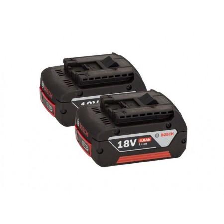 Купить в Минске Аккумулятор BOSCH GBA 18V 18.0 В, 4.0 А/ч, Li-Ion ( 2 шт.)(1600Z00042) цена