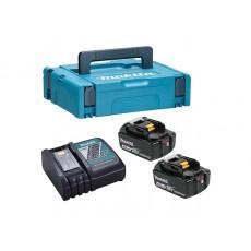 Комплект аккумулятор 18.0 В BL1840B 2 шт. + зарядное устройство DC18RC(198310-8)