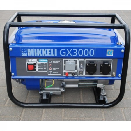 Купить в Минске Генератор бензиновый MIKKELI GX3000 цена