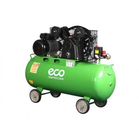 Компрессор ECO AE-1004-22 (380 л/мин, 8 атм, поршневой, масляный, ресив. 100 л, 220 В, 2.20 кВт)