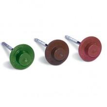 Гвоздь для ондулина 2.5х70 красный круглый (100 шт в упак) (STARFIX)