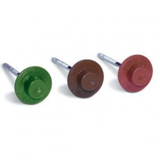 Гвоздь для ондулина 2.5х70 зеленый круглый (100 шт в упак) (STARFIX)