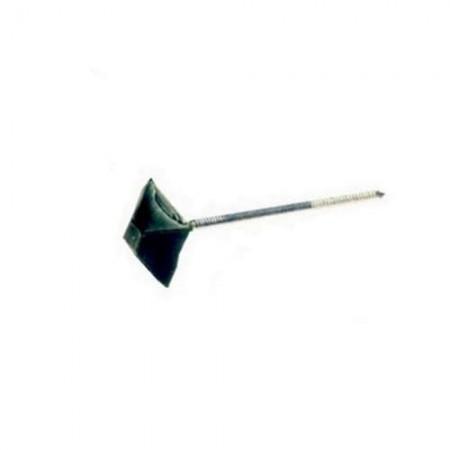 Гвоздь для ондулина 2.5х70 зеленый квадратный (100 шт в упак) STARFIX