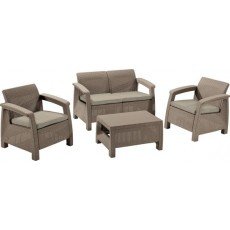 Купить в Минске Комплект мебели KETER Corfu Set, капучино цена