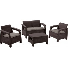 Купить в Минске Комплект мебели KETER Corfu Set, коричневый цена