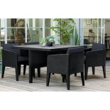 Купить в Минске Комплект мебели KETER Columbia dining set (5 предметов), графит цена