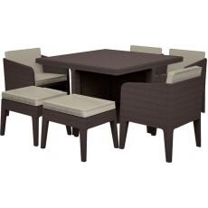 Купить в Минске Комплект мебели KETER Columbia dining set (7 предметов), коричневый цена