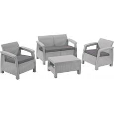Купить в Минске Комплект мебели KETER Corfu Set, серый цена