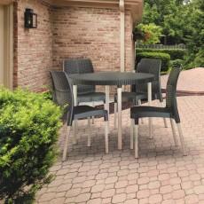 Купить в Минске Комплект мебели KETER Jersey Set, коричневый цена