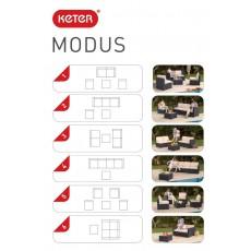 Купить в Минске Комплект мебели Modus Set 6 в 1 (Модус), коричневый цена