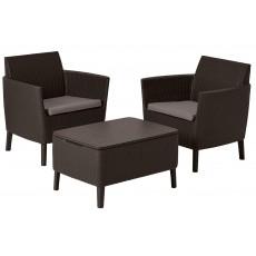Купить в Минске Комплект мебели Salemo Balcony Set, коричневый цена