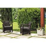 Купить в Минске Комплект мебели Tarifa 2 chairs, коричневый цена