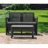 Купить в Минске Комплект мебели Tarifa sofa+table (диван и столик), коричневый цена