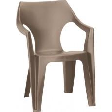 Купить в Минске Стул пластиковый Dante Low Back, серый цена