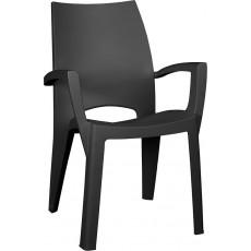 Купить в Минске Стул пластиковый Spring Chair (Спринг), графит цена