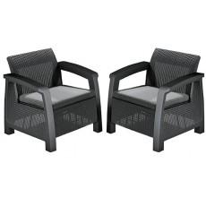 Купить в Минске Комплект мебели Bahamas Duo Set (Багамас Дуо Сэт), графит цена
