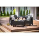 Купить в Минске Комплект мебели Bahamas Weekend Set (2 кресла+столик), коричневый цена