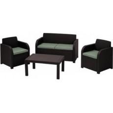 Купить в Минске Комплект мебели Carolina set (Каролина Сэт), коричневый цена