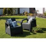 Купить в Минске Комплект мебели Corfu Duo Set (Корфу Дуо Сэт), коричневый цена