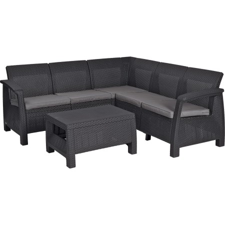 Купить в Минске Комплект мебели Corfu Relax Set (Корфу Релакс), графит цена