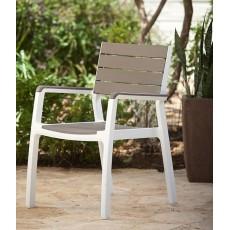 Купить в Минске Стул Harmony armchair, серый-коричневый цена