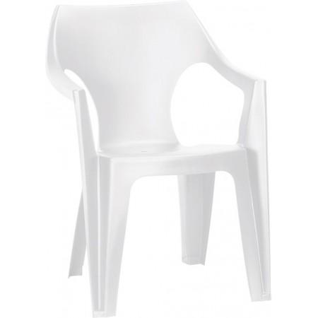 Купить в Минске Стул пластиковый Dante Low Back, белый цена
