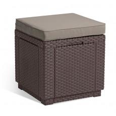 Купить в Минске Стул уличный Cube (Куб с подушкой), коричневый цена