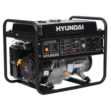 Купить в Минске Генератор бензиновый HYUNDAI HHY 5000F цена