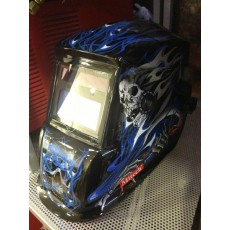 Купить в Минске Маска сварочная Mitech Blue Skull цена