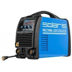 Купить в Минске Полуавтомат сварочный многофункциональный Solaris MULTIMIG-228 (MIG-MMA-TIG) цена