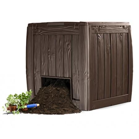 Купить в Минске Садовый компостер keter deco composter 17196661 340 л цена