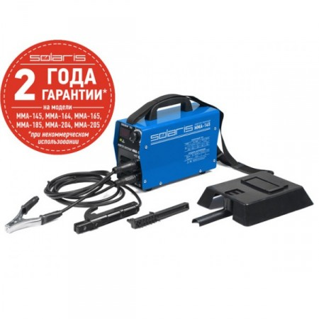 Купить в Минске Сварочный инвертор SOLARIS MMA-145 + AK цена