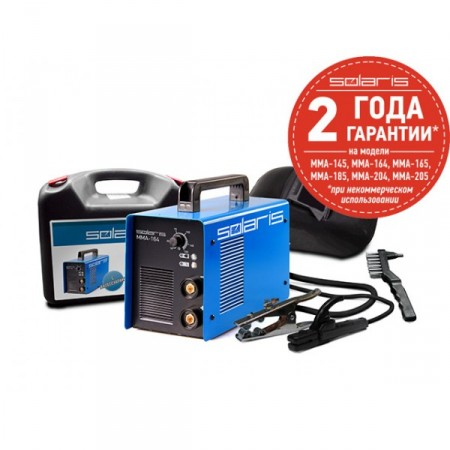 Купить в Минске Сварочный инвертор SOLARIS MMA-164B + ACX цена