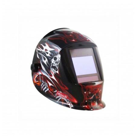 Купить в Минске Маска сварочная Mitech Red Skull (WH-03) цена