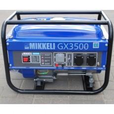 Купить в Минске Генератор бензиновый MIKKELI GX3500 цена