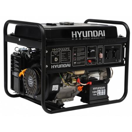 Купить в Минске Генератор бензиновый HYUNDAI HHY 5000FE цена