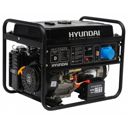 Купить в Минске Генератор бензиновый HYUNDAI HHY 7000FE цена