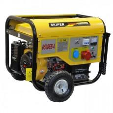 Генератор бензиновый SKIPER LT 6500 EB-4